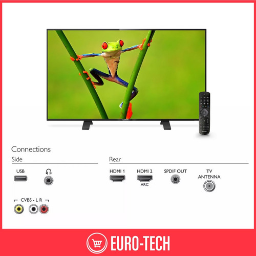 tv led philips 32 pulgadas hd tda nuevo 2019 32phg5101 gtia!