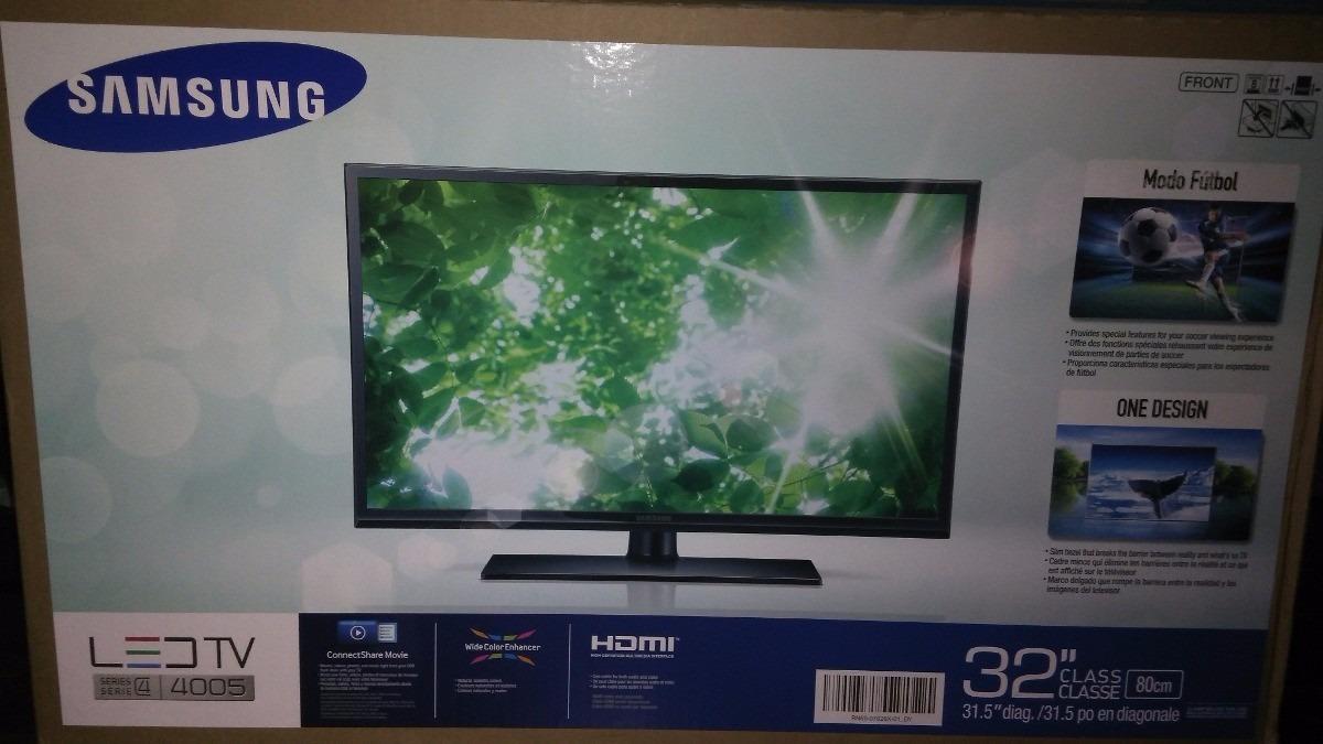 Tv Led Samsung 32 Serie 4 Modelo 4005 Hd