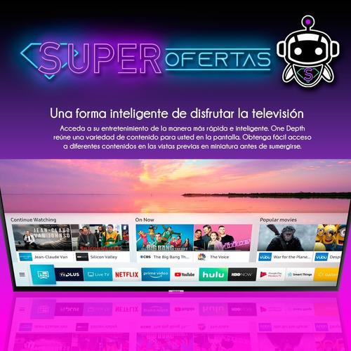 tv led samsung 65 4k ultra hd + gratis! soporte p a r e d !!