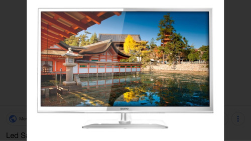 tv led sanyo