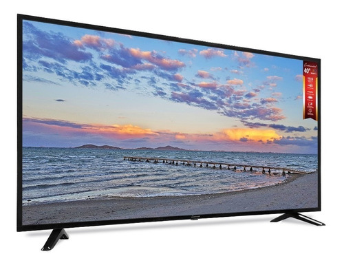 tv led slim 40- smart  full hd - continental