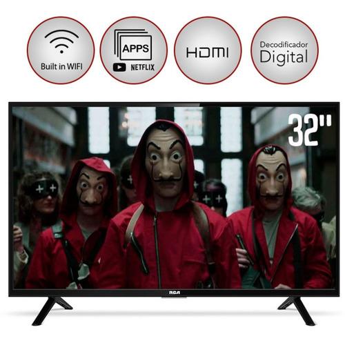 tv led smart rca 32 l32nxsmartf hd tda hdmi usb wifi netflix