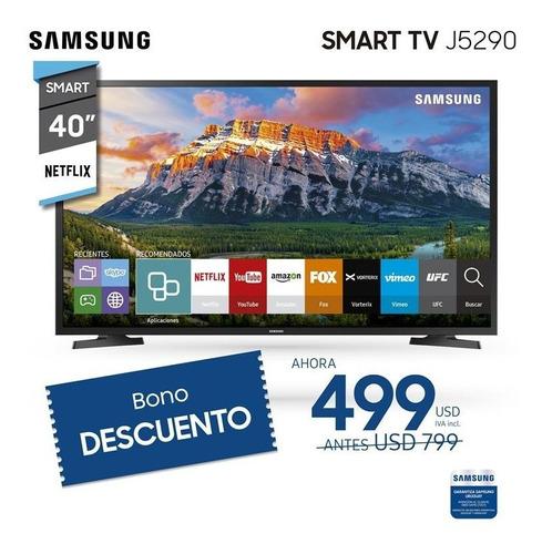tv led smart samsung 40 full hd netflix wifi usb j5290 - ltc