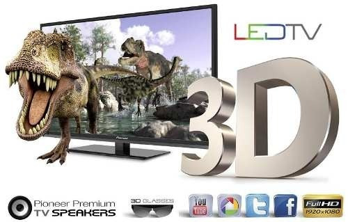 tv led smart tv 47  full hd - 3d !! excelente !