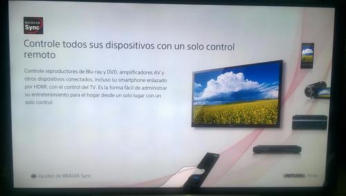 tv led sony 48 - 48r475b- outlet con detalle