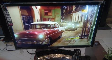 tv lg 24 pulgadas tdt con juegos incorporados es como nuevo