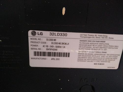 tv lg 32ld330-mb repuesto
