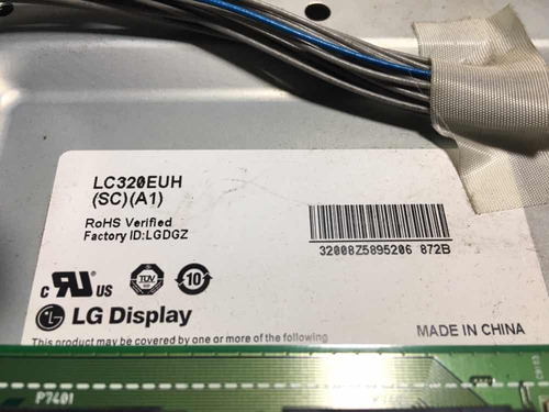 tv lg 32le5500 display panel mas tiras de led lc320euh
