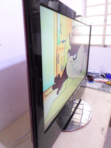 tv lg 42polegadas scarlet verm. lcd funcionando(42lg60fr)