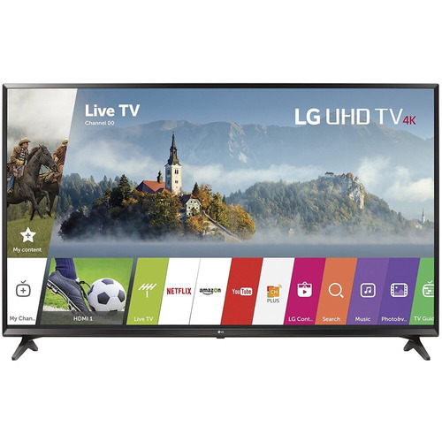 tv lg 43 pulgadas smartv hub - 4k, uhd nuevo