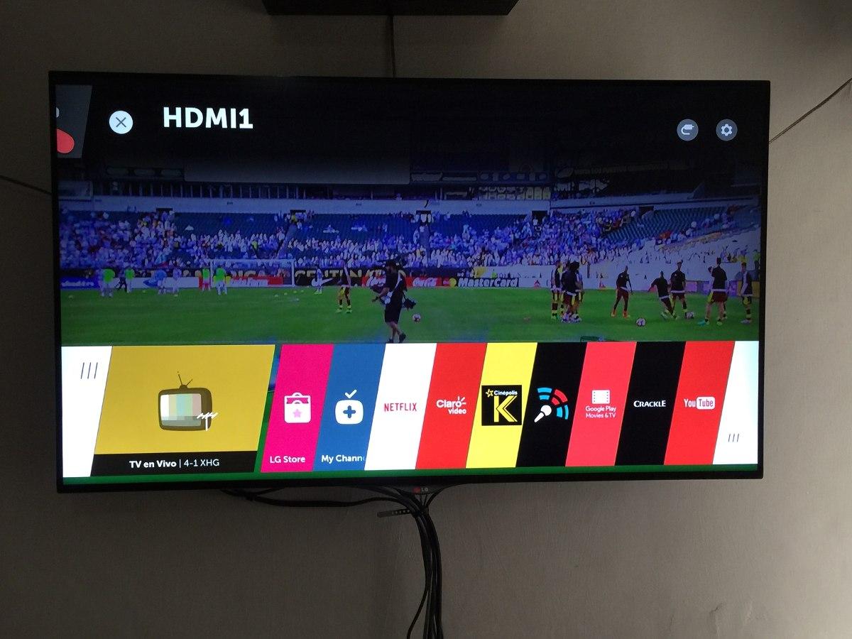 tv lg 4k 3d 55 pulgadas 4 lentes 3d led ips smart oferta 20 en mercado libre. Black Bedroom Furniture Sets. Home Design Ideas