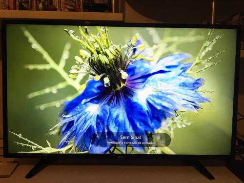 tv lg 4k hdr 43pol led com wi-fi integrado smart