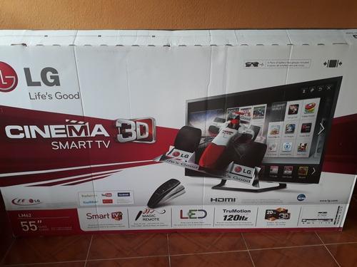 tv lg 55 pulgadas smart tv led 3d serie 55lm6200