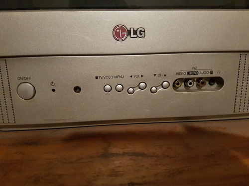 tv lg flatron 21 pulgadas funcional 100%  ve el video