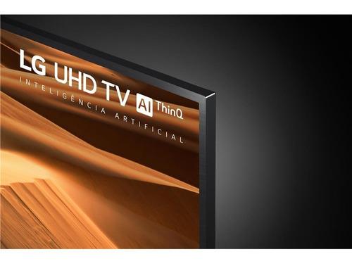 tv lg smart 4k 55 um7470 2019 magic control barra lg gratis