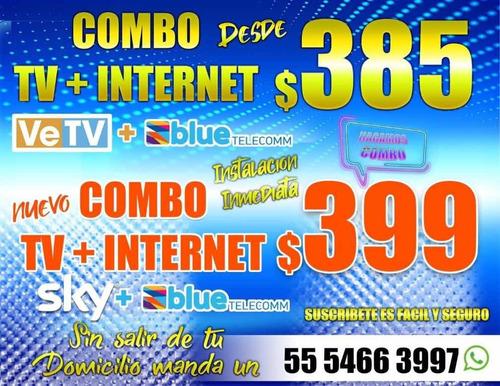 tv más internet