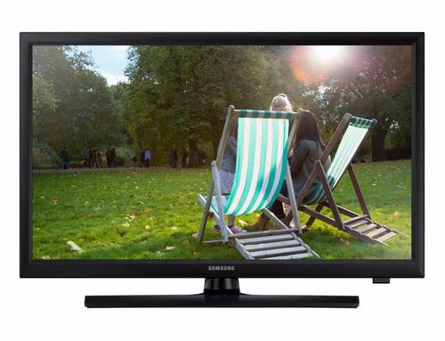 tv monitor led samsung 24'' hd 2 hdmi c/ soporte gtia 3 años
