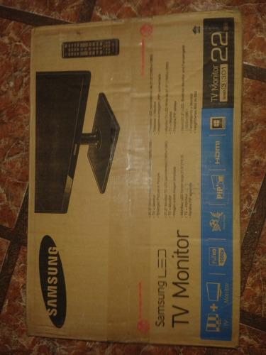 tv+monitor samsung 21'' led hdmi rca vga 1080p
