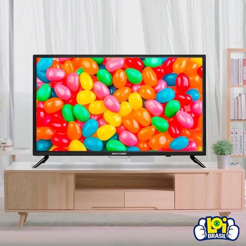 tv multilaser tl003 led hd 43 polegadas hdmi usb vga bivolt