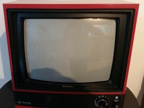 tv national colorida funcionando reliquia