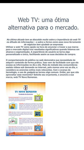 tv n.r. anuncie sua empresa seu negocio sua marca.