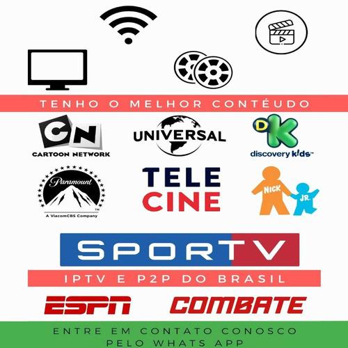 tv p2p por internet sd, hd, full hd e 4k.