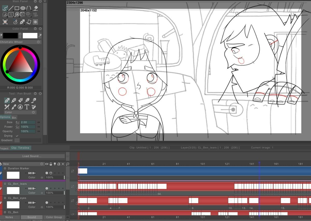 Tv Paint Animation 10 Software De Animación Profesional 3d - S/ 45,00 en Mercado Libre