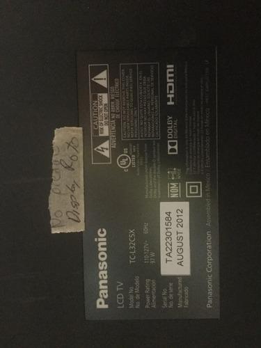 Tv Panasonic Tc-l32c5x Main Spc32t Vtv-l42611