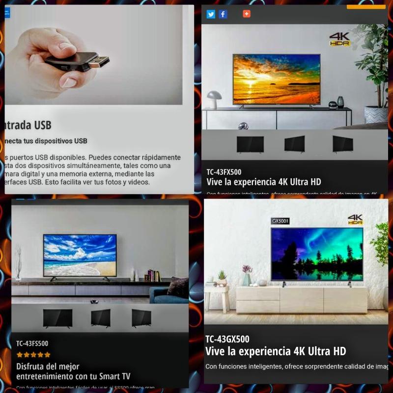 Tv Panasonic Viera Smart 43 Pulgadas