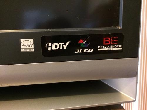 tv pantalla de cristal líquido hd mca sony bravía kdf46e2010