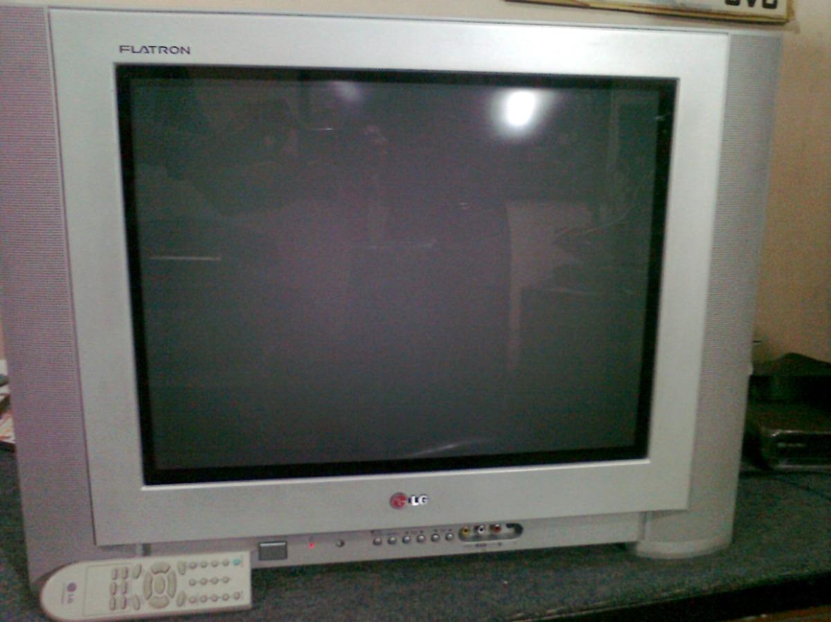 Tv pantalla plana lg flatron 21 modelo rp21fa37a 220 - Television pequena plana ...