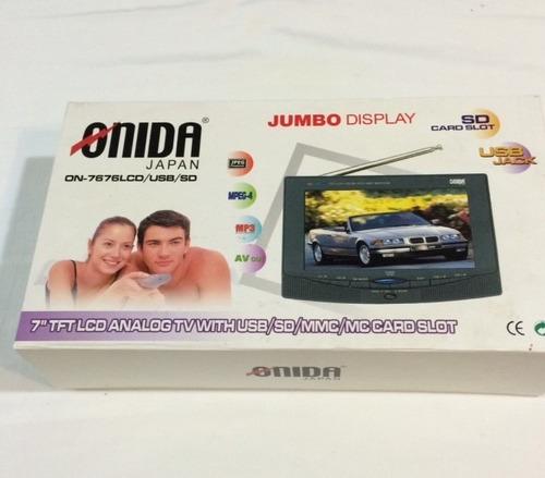 tv para vehiculos onida japan usado