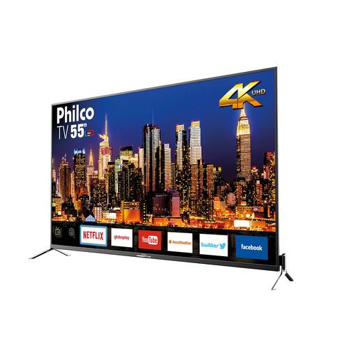 tv philco led 4k 55  ptv55q50sns bivolt