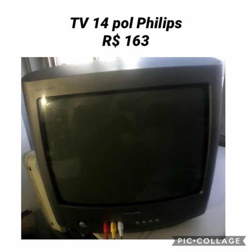 tv philips 14 polegadas