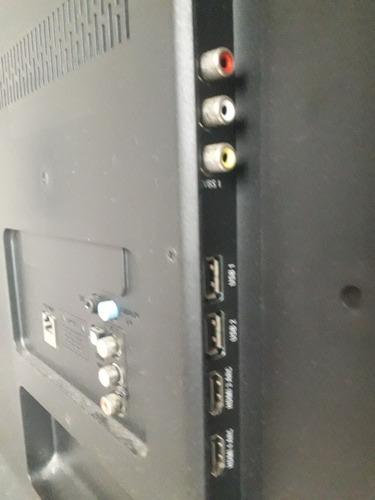 tv philips 40  4k smartv usada em estado de nova