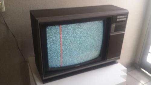 tv philips trend 1 colorida retro vintage campinas