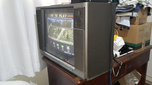 tv philips trendset 20 polegadas - retro game