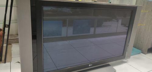 tv plasma lg modelo 42px4rv-mc, com defeito não esta ligando