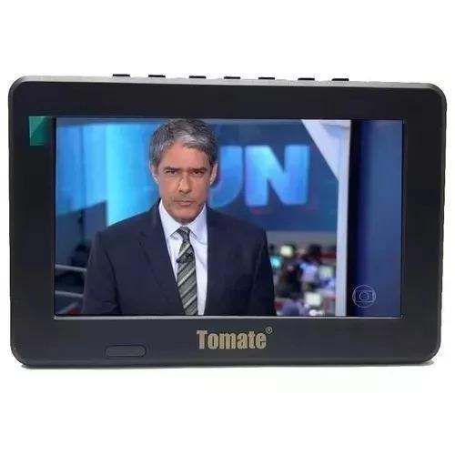 tv portátil led monitor tv digital 9 polegadas micro sd usb