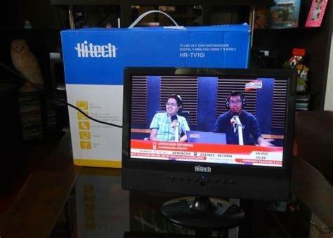 tv portátil tdt hitech 10 pulgadas nuevo en caja!!!