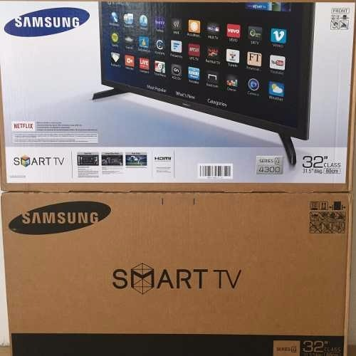 61a45572fa9 Tv Samsung 32 Pulgadas Hd Flat Smart Tv J4300 Series 4 - Bs. 3