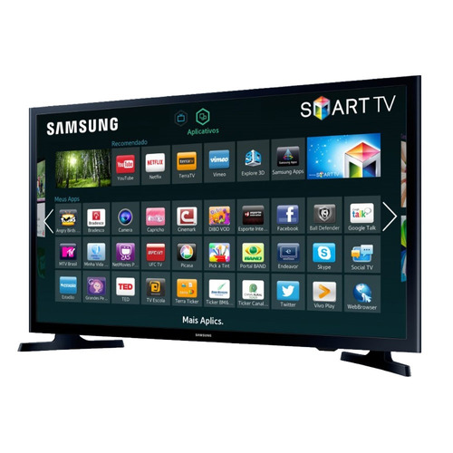 tv samsung 32- un32j4300agxzd - smart led wi-fi