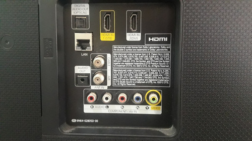 tv samsung 40 smart com tela quebrada modelo un40h5103ag led
