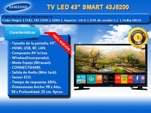 tv samsung 43 smart full hd un43j5200 wifi