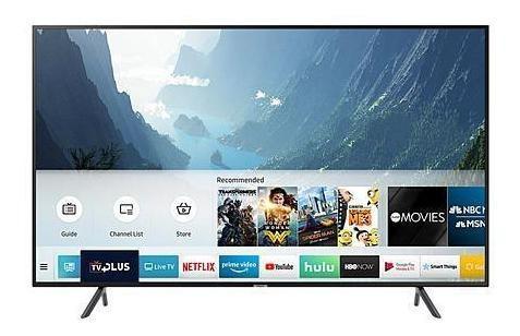 tv samsung 43 smartv 4k isdbt 43nu7100 nuevo+ soporte blackd
