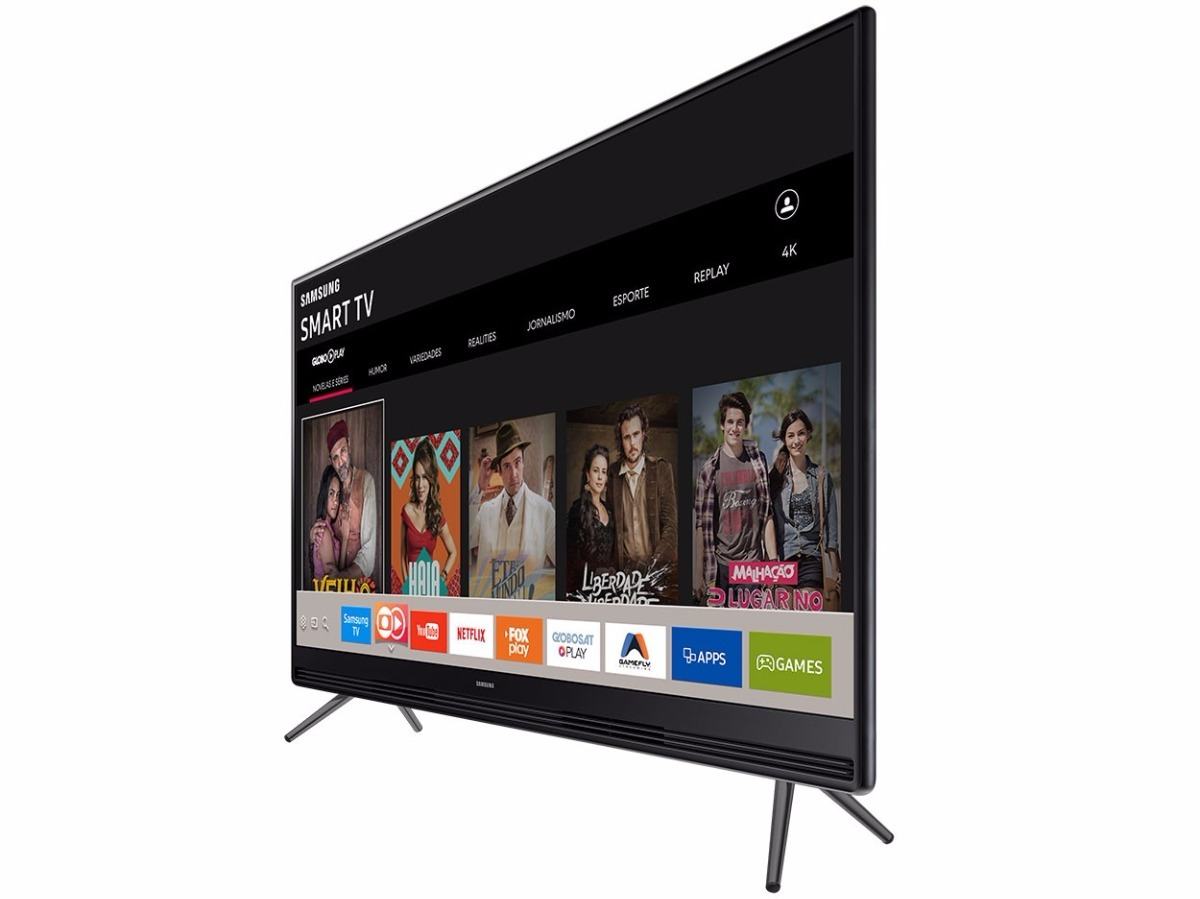 dadd0b6d89f1c2 Tv Samsung 49 Full Hd Flat Smart Tv K5300 Series 5 - R  2.899,00 em ...