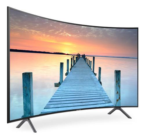tv samsung 55 curva smartv 4k hdr nu7300 isdbt