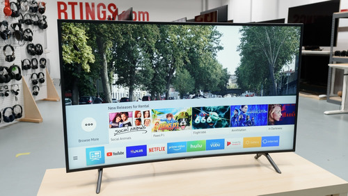 tv samsung 55 curve smartv 4k hdr nu7300 isdbt bluetooth