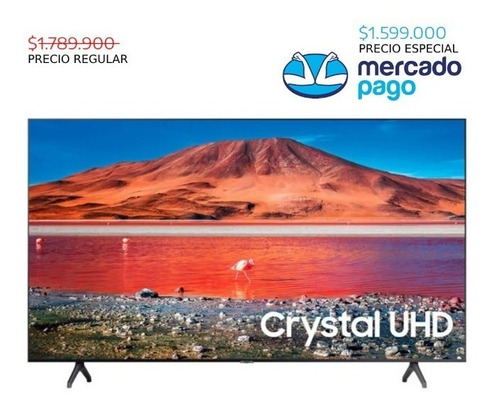 tv samsung 58 (147 cm) smart 4k uhd