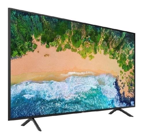 tv samsung smart 55 plano 4k nu7100 garantia samsung 2 años.